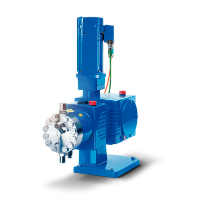 LEWA intellidrive diaphragm metering pump